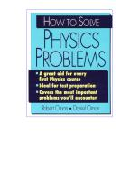 How To Solve Physics Problems.pdf