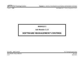 B1.1 Module 5 (Digital Techniques & Electronic Instrument System) Sub Module 5.13 (Software Manage) Rev 00.pdf