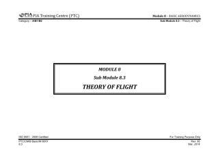 PTC A, B1.1 & B2 Basic Notes - Sub Module 8.3 (Theory of Flight).pdf