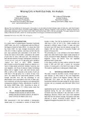 Missing Girls in North East India An Analysis.pdf
