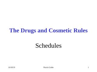 04 DC Rules & Schedules.ppt