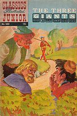 Classics Illustrated Junior #569 Three Giants.cbr