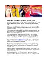 Partywear Bollywood Designer Sarees Online.pdf