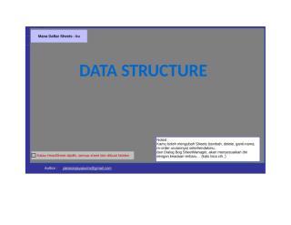 Data Structure.xls