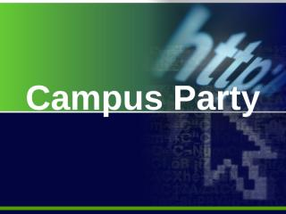 Campus Party.pptx