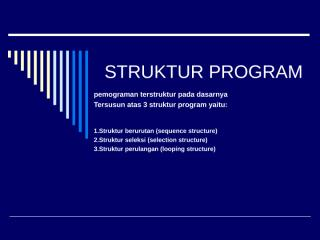 STRUKTUR PROGRAM.ppt