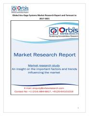 Global Acu-Gage Systems Market Research Report and Forecast to 2017-2021.pdf