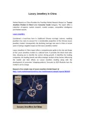Luxury Jewellery in China [].docx