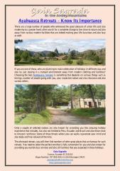 Ayahuasca Retreats – Know Its Importance.pdf