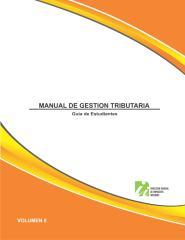 Manual de Gestión Tributaria, guía para estudiante Vol. 2.pdf