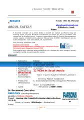 CV_ Sr  Document Controller (Abdul Sattar Meraj Din).docx