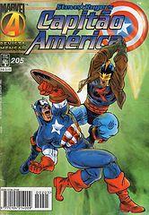 Capitão América - Abril # 205.cbr